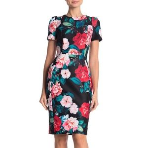 New with tags - Calvin Klein floral midi dress